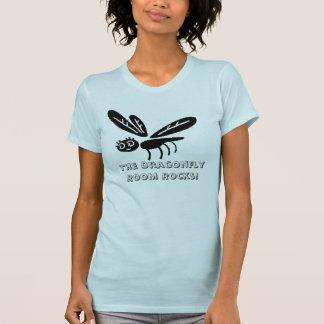 T-shirt Les roches de pièce de libellule !