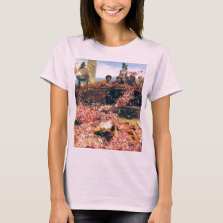 T-shirt Les roses de Heliogabalus par Lawrence Alma-Tadema