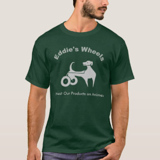 T-shirt Les roues d'Eddie foncées
