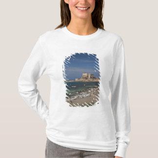 T-shirt Les ruines de Césarée du port ont construit par