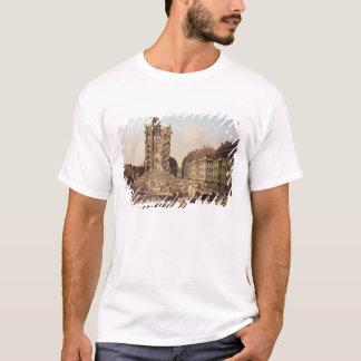 T-shirt Les ruines du vieux Kreuzkirche, Dresde