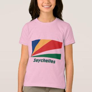 T-shirt Les Seychelles diminuent avec le nom
