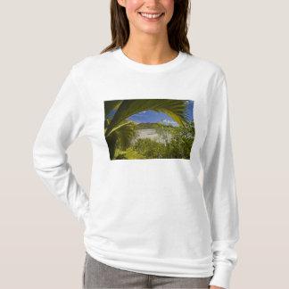T-shirt Les Seychelles, île de Curieuse, baie de Laraie