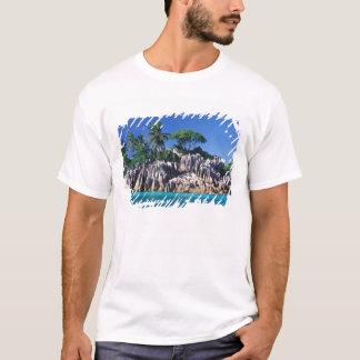 T-shirt Les Seychelles. Ilot St Pierre (près de Praslin