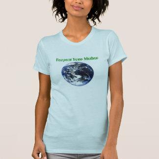 T-shirt les solides totaux, respectent votre mère