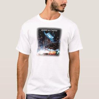 T-shirt Les soudeuses font il plus chaud