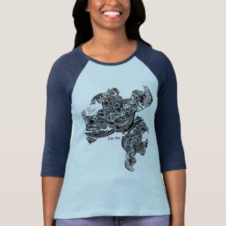 T-shirt Les t des femmes de toile d'araignée