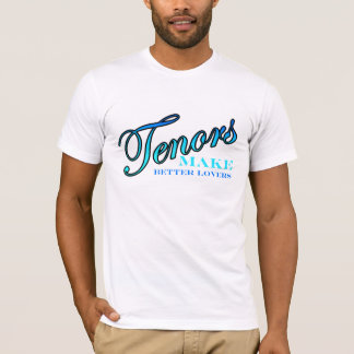 T-shirt Les tenors FONT de MEILLEURS AMANTS