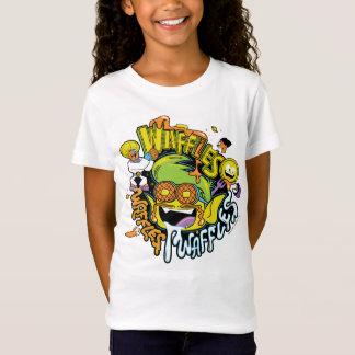 T-Shirt Les titans de l'adolescence vont ! gaufres de