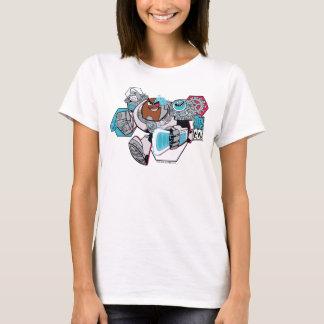 T-shirt Les titans de l'adolescence vont ! graphique de