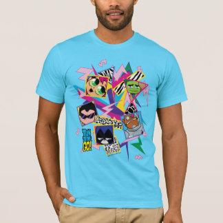 T-shirt Les titans de l'adolescence vont ! les rétros