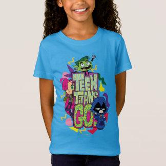T-Shirt Les titans de l'adolescence vont ! logo de poster