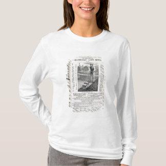 """T-shirt Les tondeuses à gazon """"d'Archimède"""" célébrées, du"""