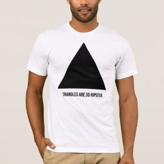 T-shirt les triangles sont ainsi hippie
