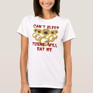 T-shirt Les tubas me mangeront tee - shirt