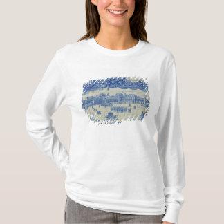 T-shirt Les tuiles d'Azulejos dépeignant le Praca font