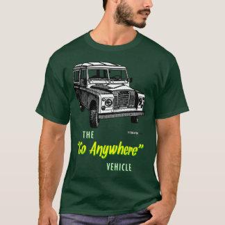 T-shirt Les vagabonds de terre vont n'importe où