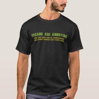 T-shirt Les végétaliens sont ennuyants