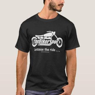 T-shirt Les vélos ne coulent pas l'huile, ils marquent