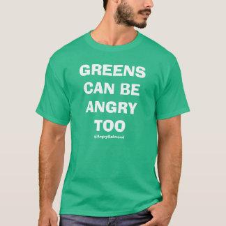 T-shirt Les verts peuvent être fâchés aussi