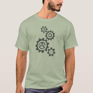 T-shirt Les vitesses tournent vers C4SS (affligé)