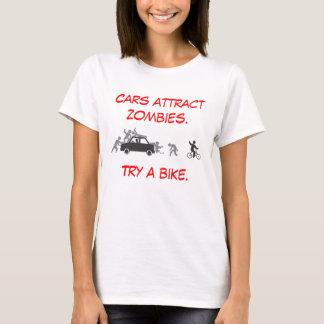 T-shirt Les voitures attirent des zombis