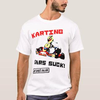 T-shirt Les voitures de Karting sucent