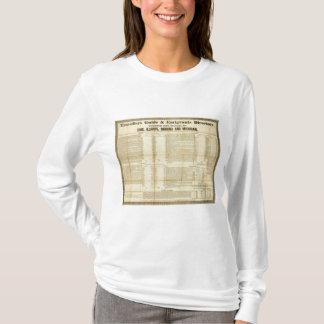 T-shirt Les voyageurs guident et l'annuaire d'émigrants