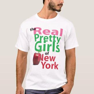T-shirt les vraies JOLIES FILLES de New York