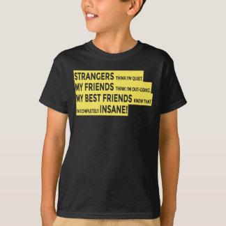 T-shirt Les vrais amis rectifient l'amitié