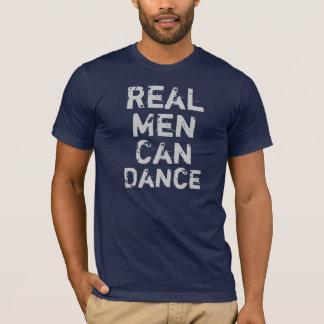 T-shirt Les vrais hommes peuvent danser