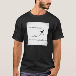 T-shirt Les vrais pilotes ne se perdent jamais