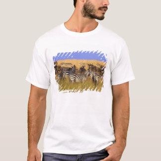 T-shirt Les zèbres et le gnou de Burchell en été grand
