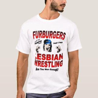 T-shirt lesbien de lutteur