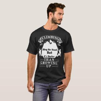 T-shirt L'escalade peut être dure