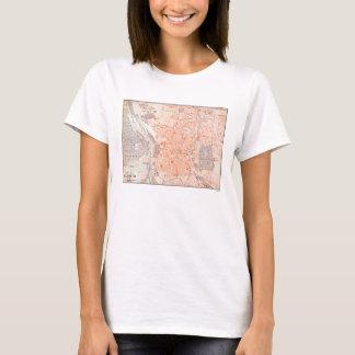 T-shirt L'Espagne : Carte de Madrid, C1920