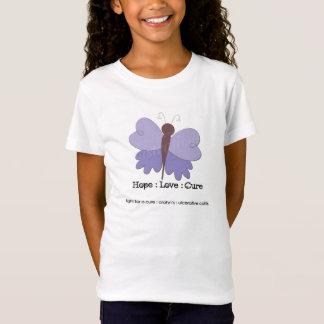 T-Shirt L'espoir de Crohn des filles : Amour : Pièce en t