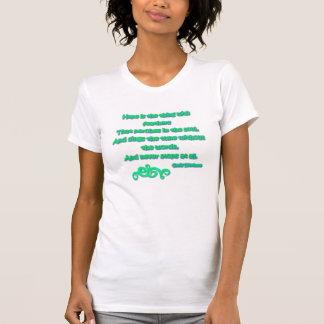 T-shirt L'espoir est la chose avec des plumes