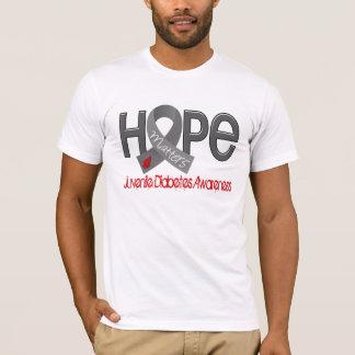 T-shirt L'espoir importe 2 diabètes de type 1