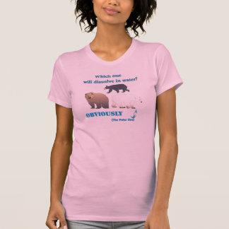 T-shirt Lesquels se dissoudra dans la chimie polaire de