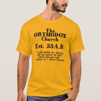 T-shirt L'est d'église orthodoxe. 33 A.D.