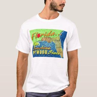 T-shirt L'état de contreplaqué