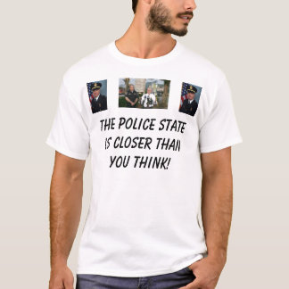 T-shirt L'état policier est plus étroit que Yo… -