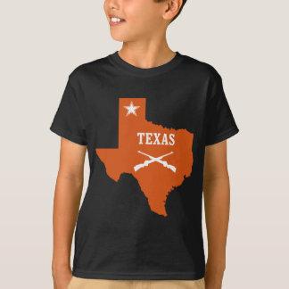 T-shirt L'étoile solitaire du Texas croisée lance l'encre