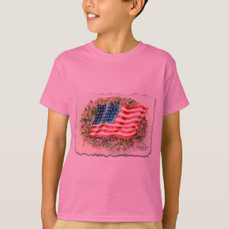T-shirt L'étoile vintage a orné des produits de paillettes