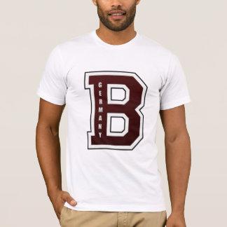 T-shirt Lettre de fac américaine de lycée de Berlin