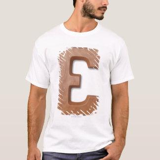 T-shirt Lettre e de chocolat