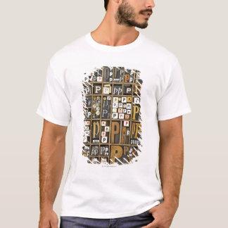 T-shirt Lettre P