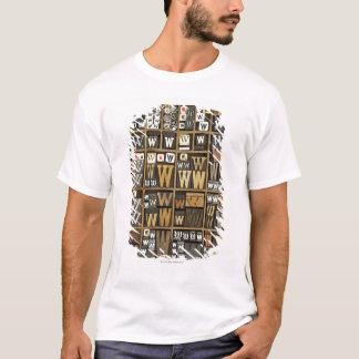 T-shirt Lettre W