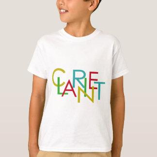 T-shirt Lettres de clarinette
